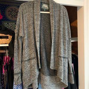 Grey Drapey Sweater